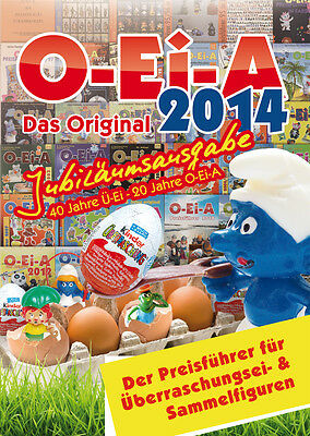 NEW O-Ei-A 2014 - Anniversary edition 40 years Kinder Surprise egg - He shipped
