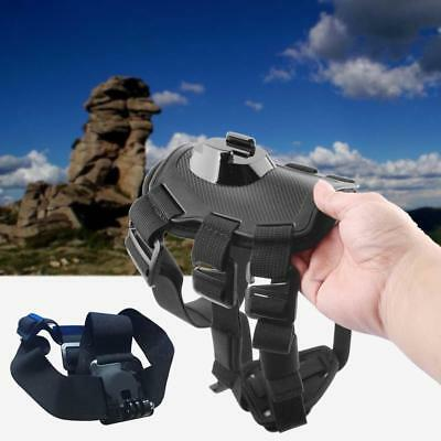 Professional Head dog Chest Strap Belt Mount Tripod for GoPro Action Camera TS