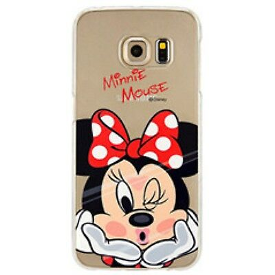 Galaxy S7 edge Schutz Hülle Handy Cover Case Tasche Slim Bumper Minnie Mouse
