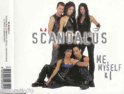 SCANDALUS Me, Myself & I - OZ CD Single