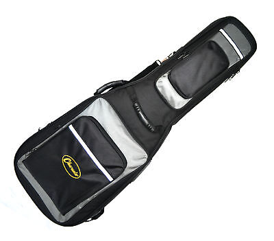 Electric Guitar Gig Bag Soft Case Clearwater  Ideal For Les Paul Strat Tele Top