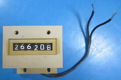 Veeder-Root 120 Volt 6 Digit Operation Counter 743796