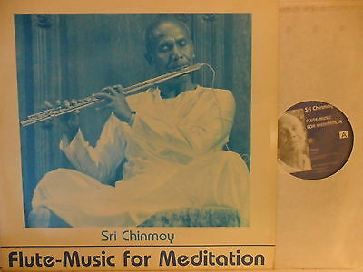 Sri Chinmay - Flute-Music for Meditation - LP 1983 CH - Sri Chinmoy Verlag SCLP2