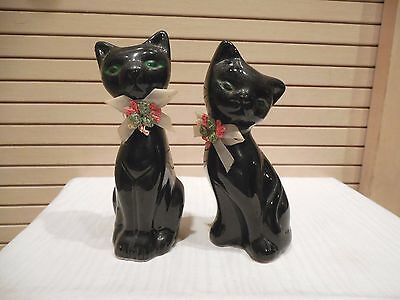 Artmark Black Kitten Cat Salt & Pepper Shakers