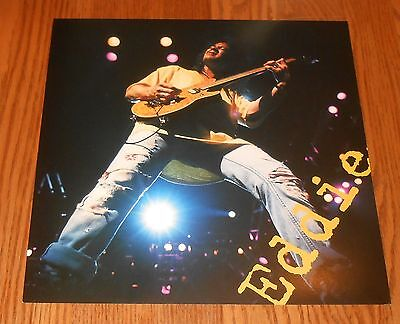 Van Halen Live: Right here, right now Poster 2-Sided Flat 1993 Promo 12x12 Eddie