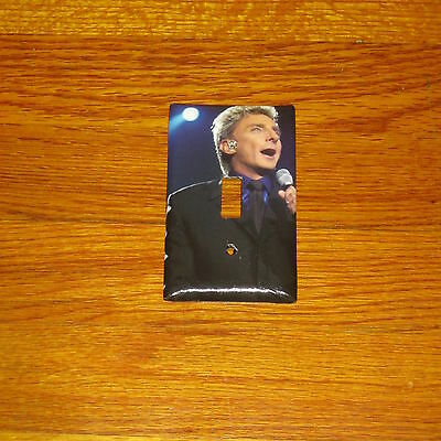 BARRY MANILOW POP ROCK MUSIC LEGEND Light Switch Cover Plate