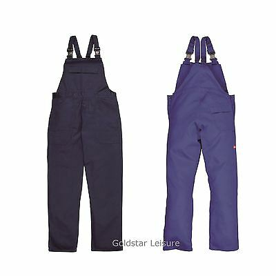 Flame Resistant Work Bib & Brace Trousers Dungarees Work Workwear S - 4XL BIZ4