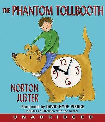 NEW The Phantom Tollbooth By Norton Juster Audio CD Free Shipping