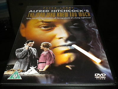 The Man Who Knew Too Much - DVD - 1934 - Cert U - Alfred Hitchcock - Peter Lorre