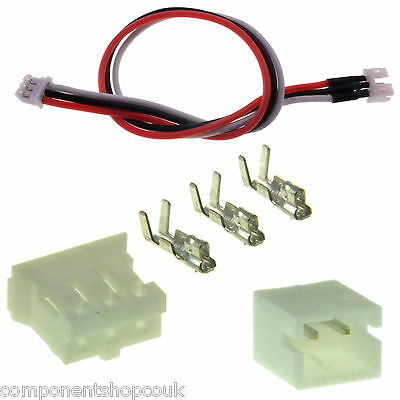 JST PH MCPX 2-3 Pin RC Connector Plug 2mm Pitch or Leads or Extensions UK
