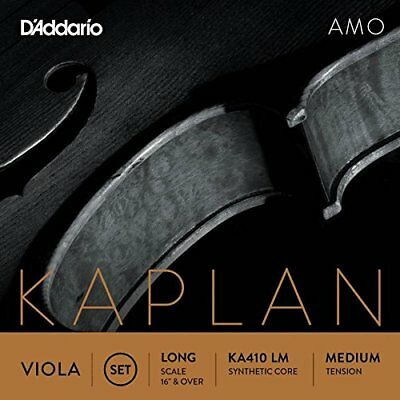 D'Addario Orchestral KA410 LM Kaplan Amo Viola Long Scale Medium Tension Strings