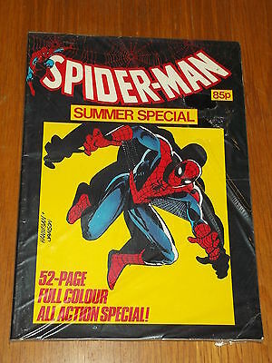 Spiderman British Weekly Summer Special 1984 Marvel