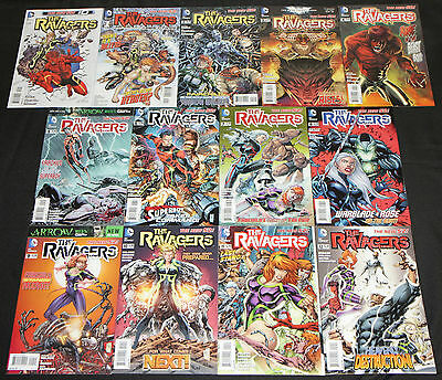 Modern DC RAVAGERS 13pc High Grade Comic Lot #0-12 Teen Titans Superboy New 52