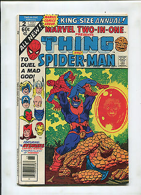 Marvel Two-In-One Annual #2 (6.0) Thanos!