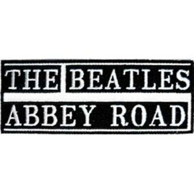 The Beatles Abbey Road Name Logo Patch, NEW UNUSED