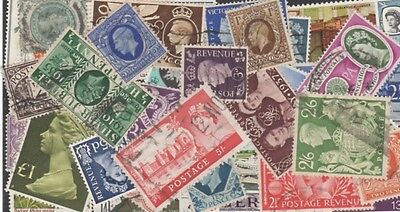Great Britain Stamp Collection -- 475 Different -- Top Quality
