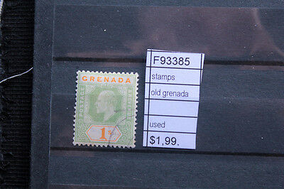 Stamps Old Grenada Used (F93385)