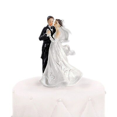 Bride and Groom Dancing Cake Topper - Wedding Celebration Cake Topper
