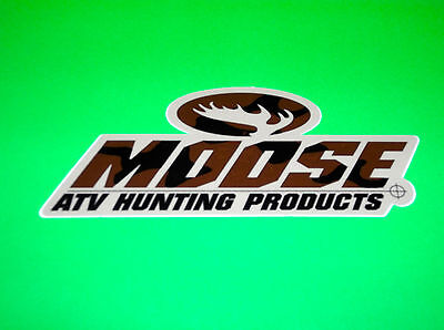 Moose Racing Hunting Products Atv Quad Utv Truck Toolbox Gun Case Decal Sticker