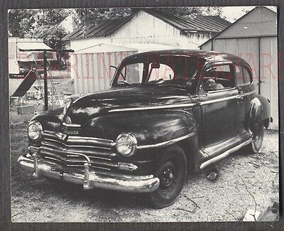 Vintage Car Photo 1946 1948 Plymouth Automobile 684518