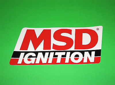 Msd Ignition Starters Distributors Rpm Timing Crank Triggers Efi Sticker Decal