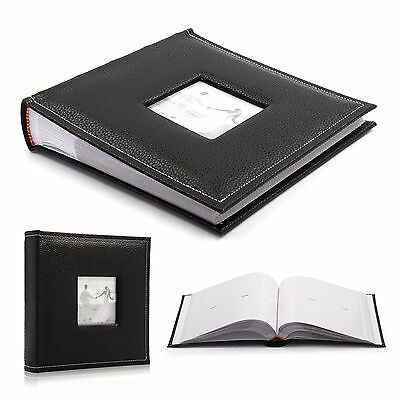 "New Vintage Travel Large 6"" x 4'' 200 Photos Slipin Photo Album With Memo Area"