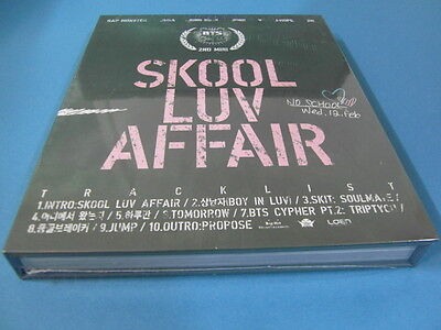 Bts (Bangtan Boys) - Skool Luv Affair Cd W/ Bookelt + Photocard $2.99 S&H