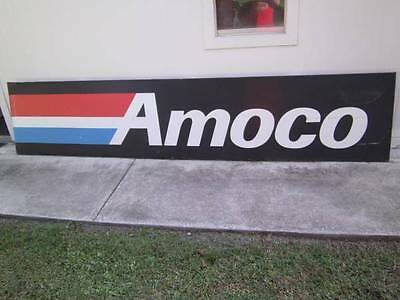 Large Vintage Amoco Gas Station Sign Nearly 12 Feet Wide