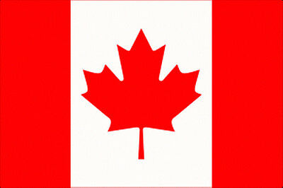 Canada Flag - 5 x 3' - National Country Canadian Red White Leaf IE