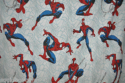 AMAZING SPIDER-MAN  FLAT  BED SHEET   Marvel Comics Spidey