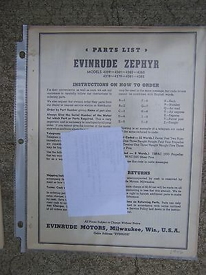 1946 evinrude zephyr outboard parts list 4402 4403 4404 4405 more in evinrude outboard motor stand 1947 evinrude zephyr outboard parts list 4402 4403 4404 4405 more in store l