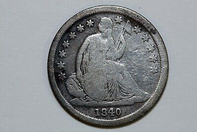 One Better Date  1840-O No Drapery Seated Liberty Dime Grading Good (SLLD598)