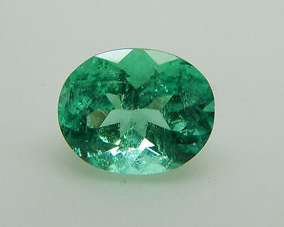 3.03Ct LARGE AMAZING CLEAN UNTREATED NATURAL EMERALD COLOMBIAN MINES/2235-EM