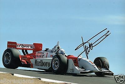 "Indy Car Driver Gil de Ferran Hand Signed Photo Autograph 12x8"" AN"