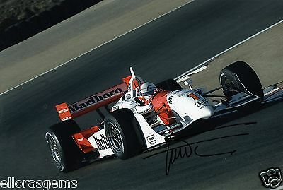 "Indy Car Driver Gil de Ferran Hand Signed Photo Autograph 12x8"" AK"