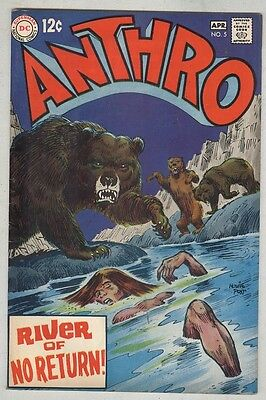 Anthro #5 April 1969 FN
