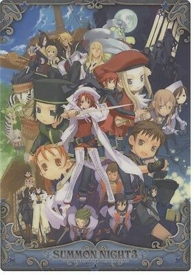 SUMMON NIGHT Anime MANGA RPG Shitajiki Pencil Board #2