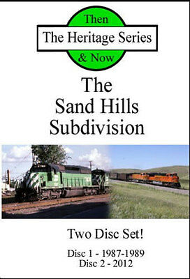 Sand Hills Subdivision Then and Now 2 Disc DVD NEW BN Power Grand Island