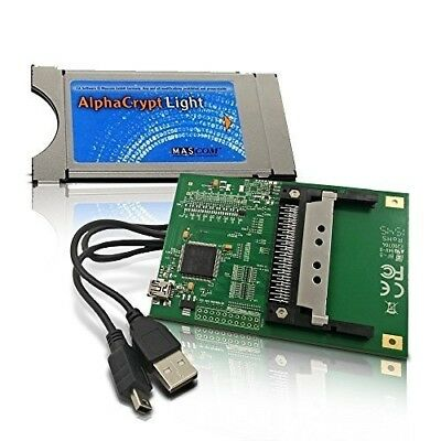 AlphaCrypt Light Modul Ver R2.2 + HMP USB CI Programmer Set One4All