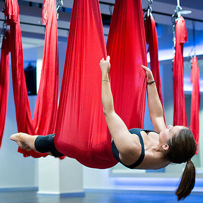 Bset Anti-Gravity Yoga Aerial Hammock Flying Swing Trapeze Fitness Pilates Sling