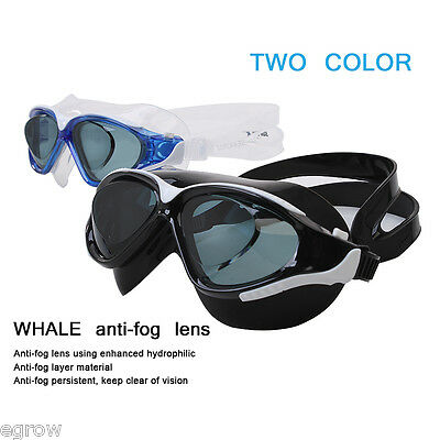 SUPER-K Adult Unisex Prescription Antifog UV Swimming Protection Goggles Glasses
