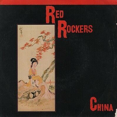 "RED ROCKERS - China - r@re Spanish 7"" single 45 Spain 1983"