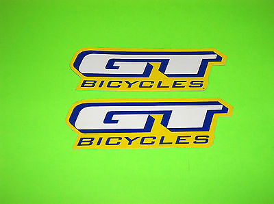 Gt Bicycles Bmx Bike Mountain Bike Extreme Bicycle Racing Stickers Decals