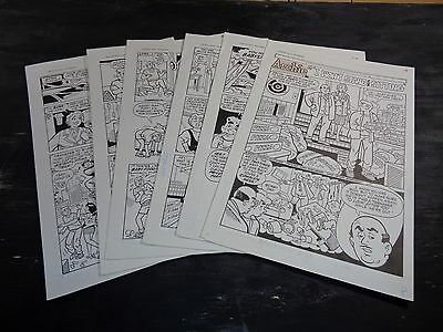 Original Art Story (Archie 442) 6 Pgs COMPLETE! S. GOLDBERG; 1995 (ART#0305)