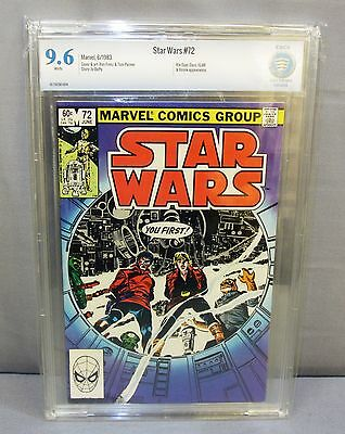 STAR WARS #72 (White Pages) CBCS 9.6 NM+ Marvel Comics 1983 cgc