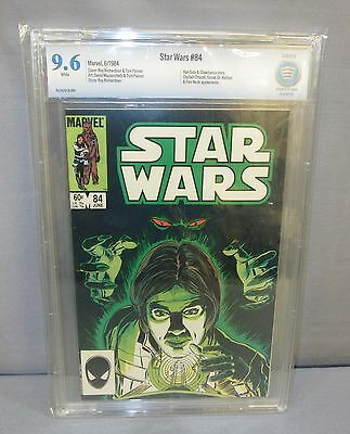 STAR WARS #84 (White Pages) CBCS 9.6 NM+ Marvel Comics 1984 cgc