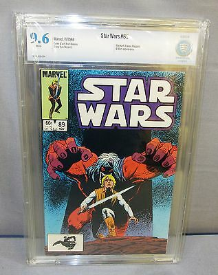 STAR WARS #89 (White Pages) CBCS 9.6 NM+ Marvel Comics 1984 cgc