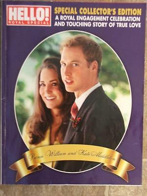 Hello Magazine Royal Special Collector's Edition Royal Engagement William & Kate