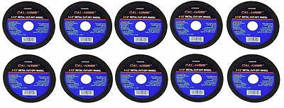"""10 Pc 4 1/2"""" Cut Off Wheel For Metal Cutting Disc Grinders 1/16"""" Thickness"""