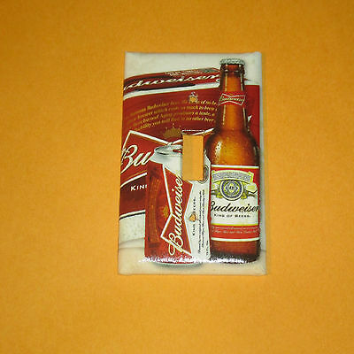 Vintage Style IRON CITY Pittsburgh Brewing BEER Bottle Light Switch Cover Plate